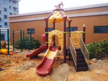 mini magic outdoor playground for kindergarten