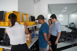 introduce our test equipment to customer