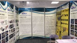 Nova Tools Booth in Construction Materials Exhibition