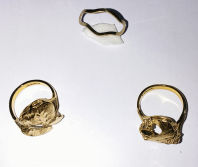 jewelry coated by our coating machine