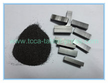 Our rotary tablet press pressed the powder metallurgy into tablets