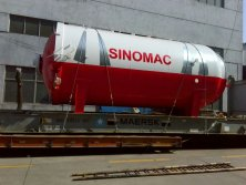 To Ecuador: 2850x5000mm Glass Autoclave in 2017