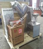 Pin mill and V mixer for medicine powder mixing and grinding