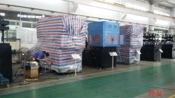 Warm spring comes: JASU 30 sets of plastic blowing machine are ready to dispatch