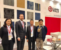 DOMOTEX asia/ CHINAFLOOR 2017 - LKHY set Booth there