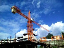 Model 5012 Top Kits Cranes Project in Philippines