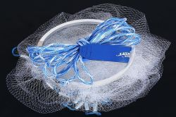 Mono Fishing Cast Net with Alumimum Frisbee