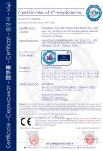 CE certificate for cable protector
