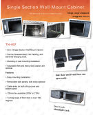 TNE Wall mounted Cabinet