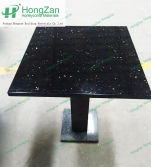 Marble honeycomb plate tea table