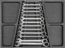 13PCS -72 TEETH GEAR COMBINATION WRENCH SET