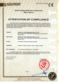CE certificate of carton packing machine