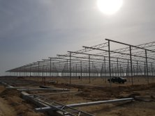 nstaInstallation site of greenhouse in azerbaijanllation