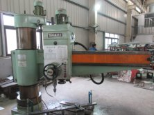 Swing drilling machine