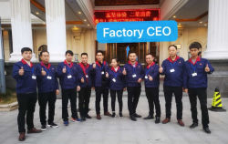 Excellent business team learn more steel knowledge together