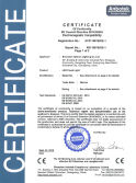 CE certificate of XH series led flood light