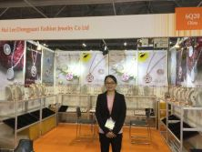 Thank you to visit our booth during the Asia's Jewelry Fair