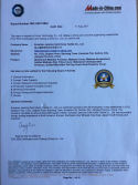 Company qualification certificate