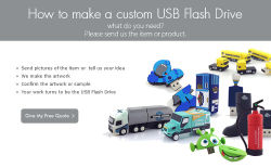How to make a customer USB Flash Drive #king master#