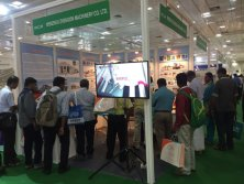 Zhengxin booth in India June 2017