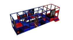 3d Video for Indoor Soft Playground
