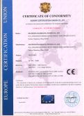 CE CERTIFICATE OF TREADMILL