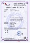 CE Certificate of LED Flexible Neon Rope