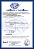 RoSH Certificate of Solar Lamp