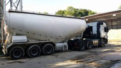 Cement Tanker Exported to Southeast Asia