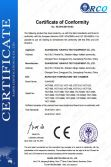 CE certificate of rapid rate temperature test chamber