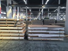 warehouse of stainless steel sheet