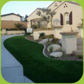 Landscaping grass case in Las vegas USA