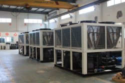 NO. 2 Air Cooled Screw Chiller production line