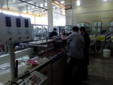 machinery in Russian customer′s factory