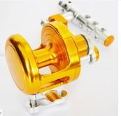 Pure hand made CNC fishing reel trolling fishing reel