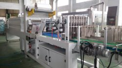 PE film shrink and packing machine