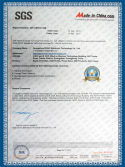 Ronc Company SGS Certification