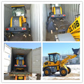 Mini wheel loader shipped to Saudi Arabia