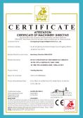CE certificate for Vending Machine