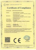 Certification of LED UFO Light