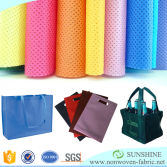 Shopping bags making material