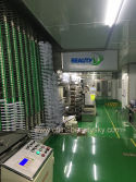 High-speed Aluminum Tubes production line at GMP workshop