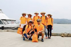 Team building in Linhai