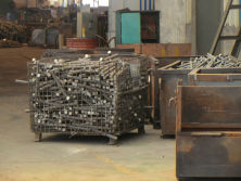 cutting steel for manufacturing Rigging