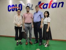 Customers Visiting for Powder Coating Line
