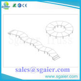 S shape stage-- Special portable stage from Sgaier Truss