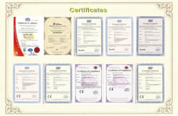 Our whole certificates