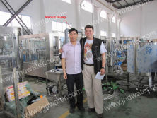 Poland customer in our factory
