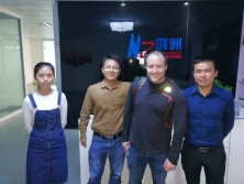 13th April 2017 Canada customer Gabriel Venne visit Hongzhou again