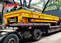 Battery Transfer Cart Delivered to Shanghai